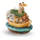 Halcyon Days The NoahS Ark Bonbonnire Enamel Box EBNOA0102B EAN: 5060171103929