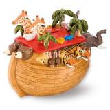 Halcyon Days The Noahs Ark Money Box Enamel Box BCNOA01MBC EAN: 5060171103141