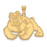 California State University Fresno x-Large Pendant in 10k Yellow Gold by LogoArt MPN: 1Y004CSF