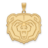 Missouri State x-Large Pendant in Gold-plated Silver by LogoArt MPN: GP002SMS