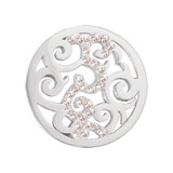 Nikki Lissoni Baroque Silver-Plated 23mm Coin MPN: C1018SS EAN: 8718627460566