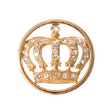 Nikki Lissoni Royal Crown Gold-Plated 23mm Coin MPN: C1038GS EAN: 8718627461082