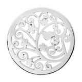 Nikki Lissoni Tree of Love Silver-Plated 33mm Coin MPN: C1135SM EAN: 8718627462812