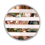 Nikki Lissoni Striped Shell Silver-Plated 33mm Coin MPN: C1194SM EAN: 8718627465400
