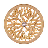 Nikki Lissoni Tree Roots Gold-Plated 33mm Coin MPN: C1203GM EAN: 8718627464625