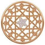 Nikki Lissoni Center Star Gold-Plated 43mm Coin MPN: C1207GL EAN: 8718627464687