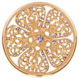 Nikki Lissoni Flower Fantasy Gold-Plated 43mm Coin MPN: C1251GL EAN: 8718627465912
