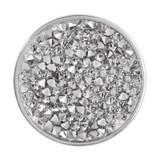 Nikki Lissoni Clear Rock Crystal Silver-Plated 33mm Coin MPN: C1258SM EAN: 8718627466308