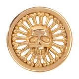 Nikki Lissoni Golden Skull Gold-Plated 33mm Coin MPN: C1269GM EAN: 8718627466667