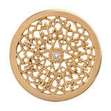 Nikki Lissoni Vintage Star Gold-Plated 33mm Coin MPN: C1276GM EAN: 8718627467718
