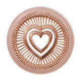 Nikki Lissoni My Heart Will Protect You Rose Gold-Plated 33mm Coin MPN: C1281RGM EAN: 8718627467756