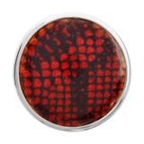 Nikki Lissoni Red Snake Print Silver-Plated 33mm Coin MPN: C1303SM EAN: 8718627467961