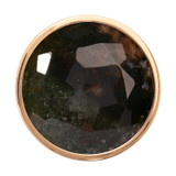 Nikki Lissoni Faceted Moss Agate Gold-Plated 33mm Coin MPN: C1316GM EAN: 8718627468203