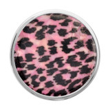 Nikki Lissoni Pink Leopard Print Silver-Plated 33mm Coin MPN: C1327SM EAN: 8718627468012