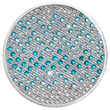 Nikki Lissoni Sense of Glamour Turquoise Silver-Plated 43mm Coin MPN: C1354SL EAN: 8718627468654