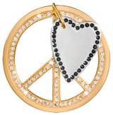 Nikki Lissoni Love Peace Dangle Gold-Plated 43mm Coin MPN: C1385GL EAN: 8718627469385