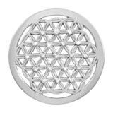 Nikki Lissoni Crystal Maze Silver-Plated 33mm Coin MPN: C1389SM EAN: 8718627469422