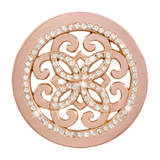 Nikki Lissoni Baroque Freedom Rose Gold-Plated 33mm Coin MPN: C1395RGM EAN: 8718627469460