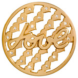 Nikki Lissoni Tribute To Love Gold-Plated 43mm Coin MPN: C1404GL EAN: 8718627469552