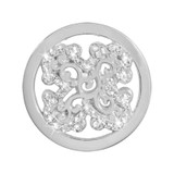 Nikki Lissoni Sparkling Curl Fantasy Silver-Plated 23mm Coin MPN: C1412SS EAN: 8718627469637