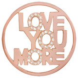 Nikki Lissoni Love You More Rose Gold-Plated 43mm Coin MPN: C1413RGL EAN: 8718627469644