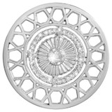 Nikki Lissoni Inner Power Silver-Plated 43mm Coin MPN: C1414SL EAN: 8718627469651
