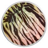 Nikki Lissoni Savannah Zebra Print Silver-Plated 43mm Coin MPN: C1443SL EAN: 8718627469941