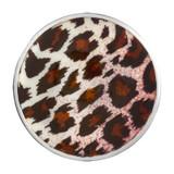 Nikki Lissoni Leopard Print Silver-Plated 33mm Coin MPN: C1459SM EAN: 8718819230106