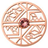 Nikki Lissoni Wild Free Rose Gold-Plated 43mm Coin MPN: C1591RGL EAN: 8719075300435