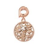 Nikki Lissoni Fantasy Tree Charm Rose Gold-Plated 15mm MPN: D1075RGS EAN: 8718819232452