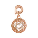 Nikki Lissoni Small Heart Charm Rose Gold-Plated 15mm MPN: D1098RGS EAN: 8718819232698