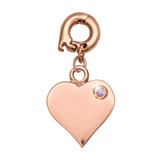 Nikki Lissoni Love It Is Charm Rose Gold-Plated 15mm MPN: D1126RGS EAN: 8718819238621