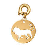 Nikki Lissoni Courage Lion Charm Gold-Plated 20mm MPN: D1179GM EAN: 8718819239604