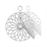 Nikki Lissoni Dreamcatcher Dangle 2 Pieces Silver-Plated 24mm Earrings MPN: EAC2034S EAN: 8718819231424