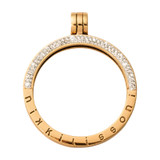 Nikki Lissoni Gold-Plated Pendant with Swarovski Stones 35mm Coin Holder MPN: P08GM EAN: 8718819235743
