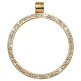 Nikki Lissoni Gold-Plated with Swarovski Stones 45mm Coin Holder MPN: PSW02GL EAN: 8718627468463