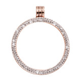 Nikki Lissoni Rose Gold-Plated with Swarovski Stones 35mm Coin Holder MPN: PSW03RGM EAN: 8718627468494