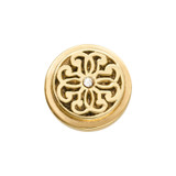 Nikki Lissoni Gold-Plated Baroque Fantasy Coin That Fits S Rings MPN: RC2012G EAN: 8718819234166