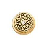 Nikki Lissoni Gold-Plated Hearts All Over Coin That Fits S Rings MPN: RC2015G EAN: 8718819233268