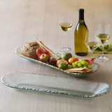 Annieglass Edgey Baguette Tray 21 1/2 x 7 1/4 Inch - Gold MPN: E121G