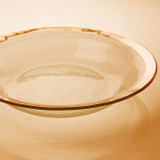 Annieglass Gold Roman Antique Tossing Bowl 15 Inch MPN: G222
