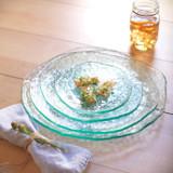 Annieglass Salt Plate 13 3/4 Inch MPN: SA113