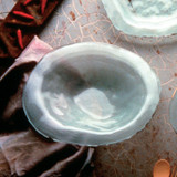 Annieglass Shells Platinum Bowl 8 Inch MPN: BC103P
