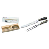 Berti Cutlery Carving Set Knife with Ox Horn Handle MPN: 550