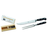 Berti Cutlery Carving Set Knife with Black Lucite Handle MPN: 558