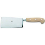 Berti Cutlery Cleaver Knife with White Lucite Handle MPN: 904