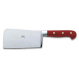 Berti Cutlery Cleaver Knife with Red Lucite Handle MPN: 2404
