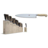 Berti Cutlery Insieme Chefs Knife 10 Inch with White Lucite Handle MPN: 9895