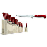 Berti Cutlery Insieme Boning Knife with Red Lucite Handle MPN: 92398