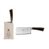 Berti Cutlery Insieme Bone Cleaver Knife with Cornotech Handle MPN: 92714